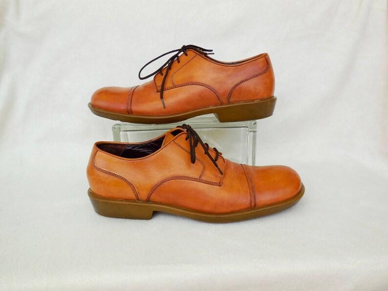 03e3e4bd88278 Vintage Leather OXFORD CAPPELLETTI Mens Oxfords Cap Toe