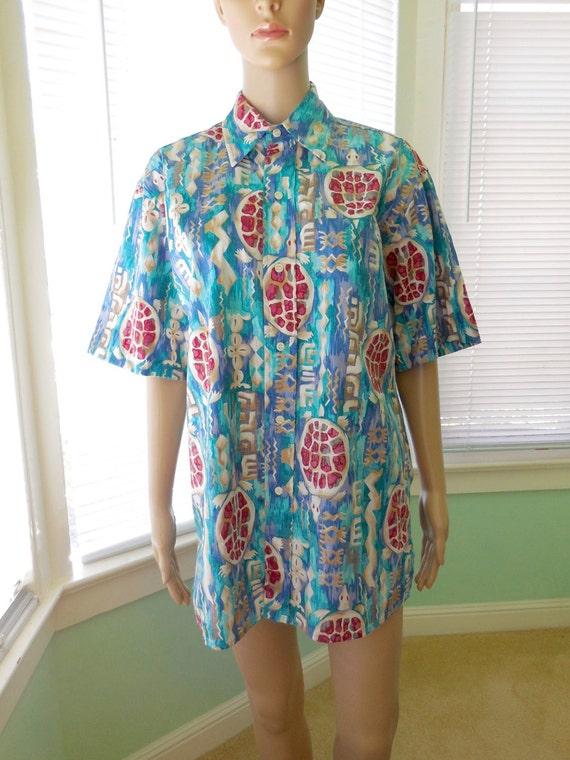 308f551e Mens HAWAIIAN Shirt/REYN SPOONER Hawaiian Shirt/Mens Tropical | Etsy