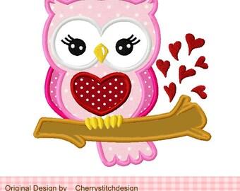 Owl Valentine Etsy