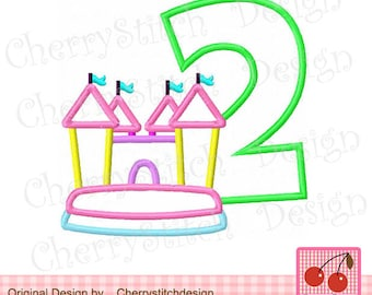 Mario Bros Inspired Birthday Design Number 6 from EandOApplique on on bounce house business card, haunted house embroidery design, bounce house marketing, bounce house stationery, bounce house logo design,
