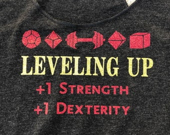 Leveling Up- Dungeons and Dragons- DND tank