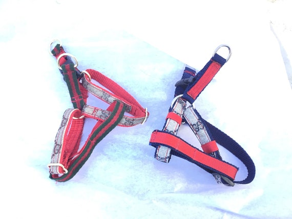 9577441a06a8eb Gucci Dog Harness step-in small to medium