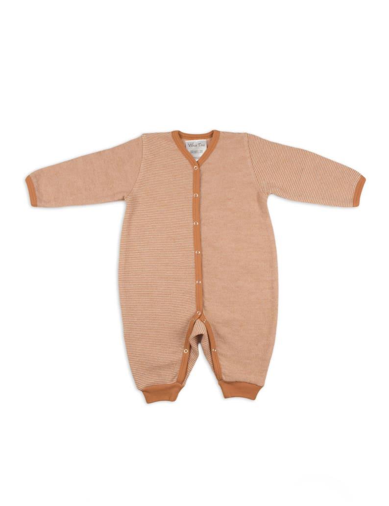 0aa84fd7650f Merino wool pajama Rompers Baby rompers Merino wool