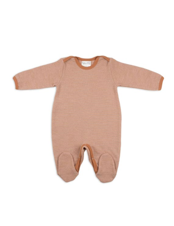 518e2a6fd1fd Merino wool pajama with feet Rompers Baby rompers Baby