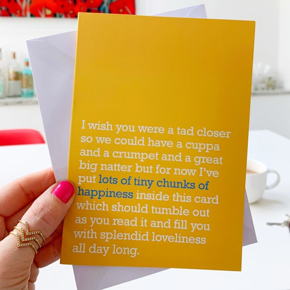 your partner your friends your children Rainbow Friendship Card: send to anyone who adds the colour to your life your parents