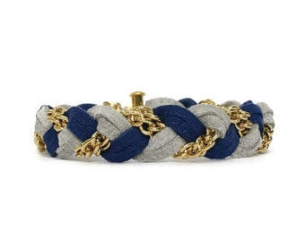 Braided Bracelet in Sweater Weather
