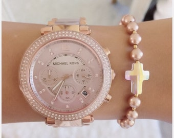 Rose Gold Blessed Bracelet
