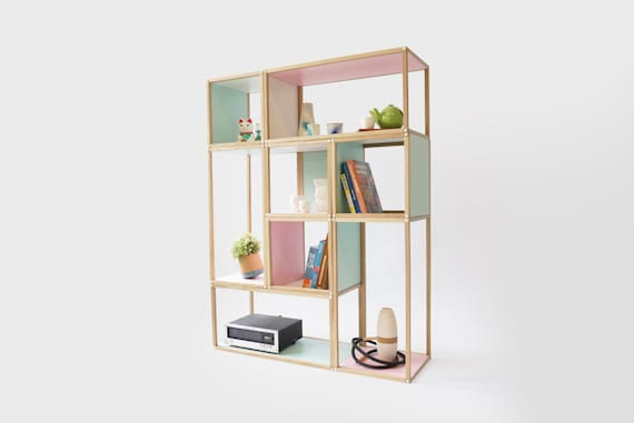 Stacks Shelving Furniture Multi Function All Stackable