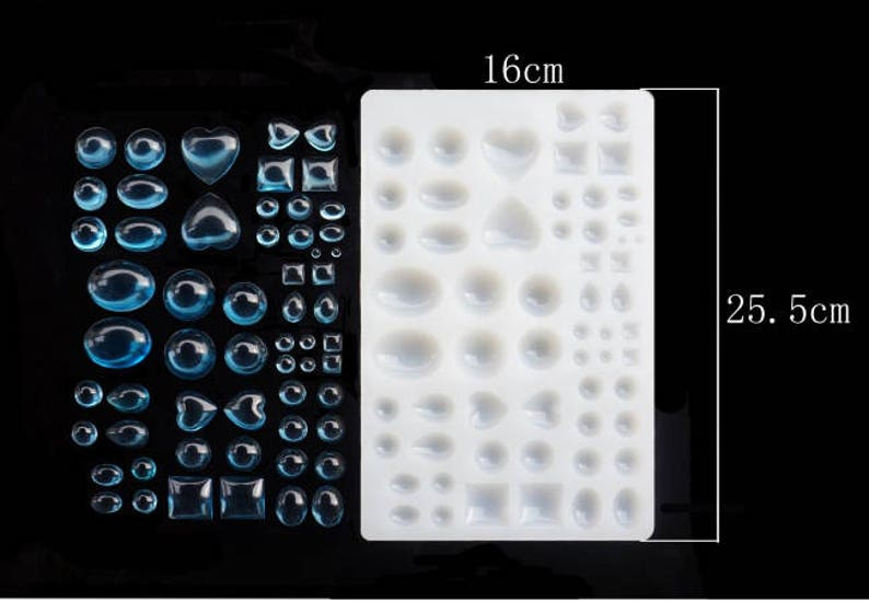 food mold Resin Cabochon Mold Gem Silicone Mold jewelry mold resin mold flexible mold craft mold,cabochon mold clay mold