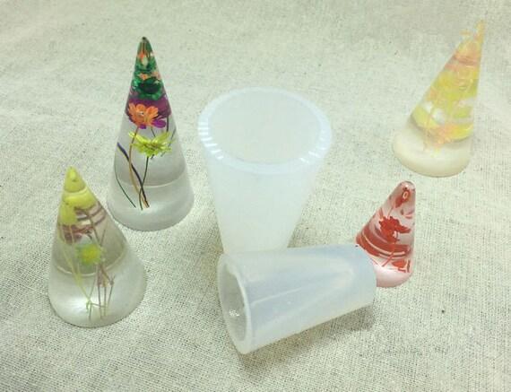 Circular Cone Silicone Mold Resin Silicon Mold Jewellery Making