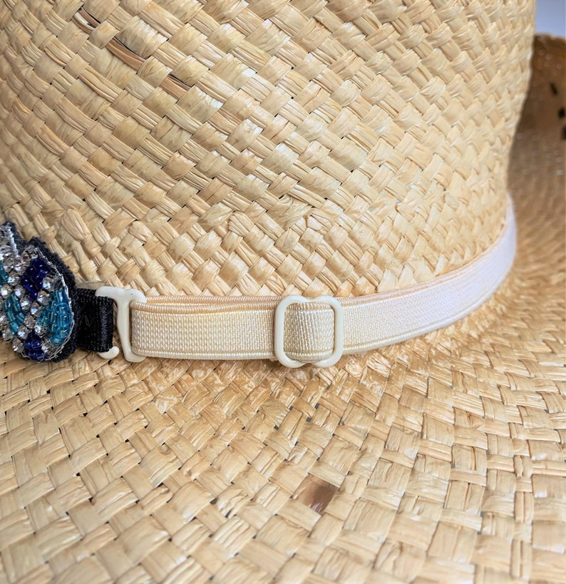 Hat Jewelry Cowboy Hat Band Photo Props Western Hat Band Adjustble Hat Band Hat Accessories Black Hat Band Beaded Hat Band
