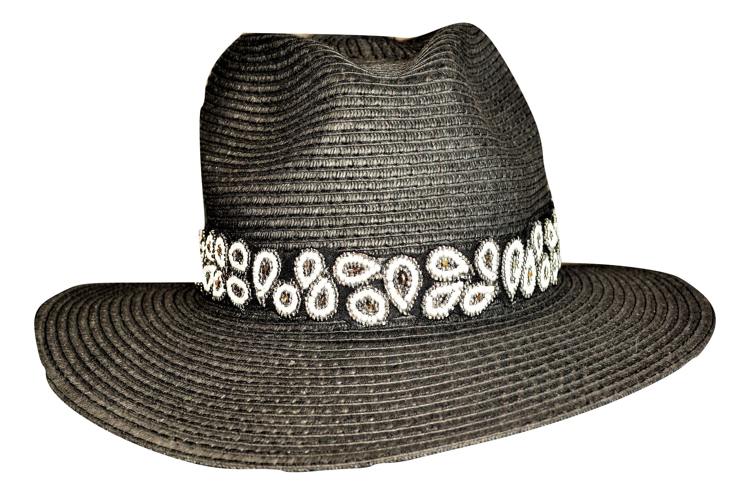 114d1719190 Paisley hat band black white hat band adjustable hatband jpg 3000x1981 Paisley  hat