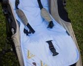 Organic cotton universal Stroller Liner