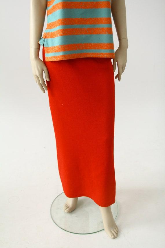 Marimekko knit! Vintage maxi skirt - image 3