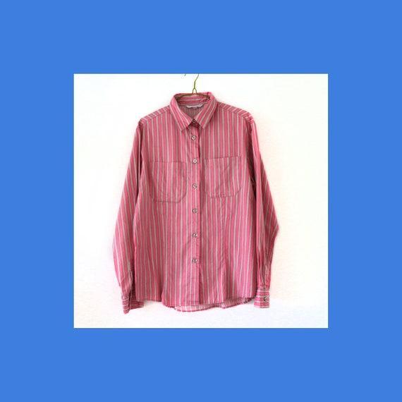 Vinage Marimekko Jokapoika vintage pink cotton shi