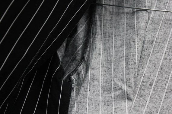 Vuokko Nurmesniemi vintage black and white stripe… - image 7