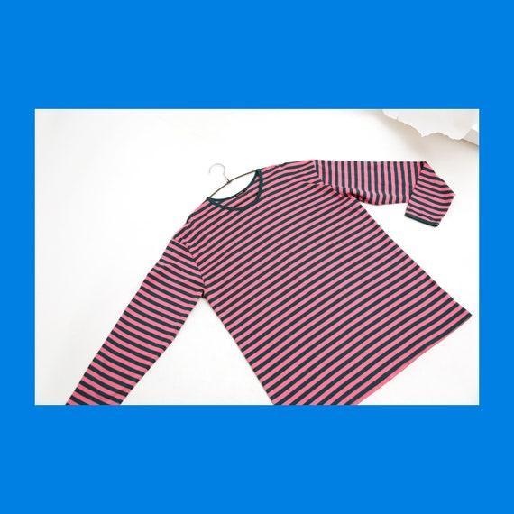 Marimekko Tasaraita striped big size long sleeved
