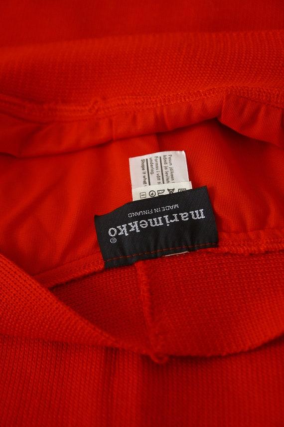 Marimekko knit! Vintage maxi skirt - image 8