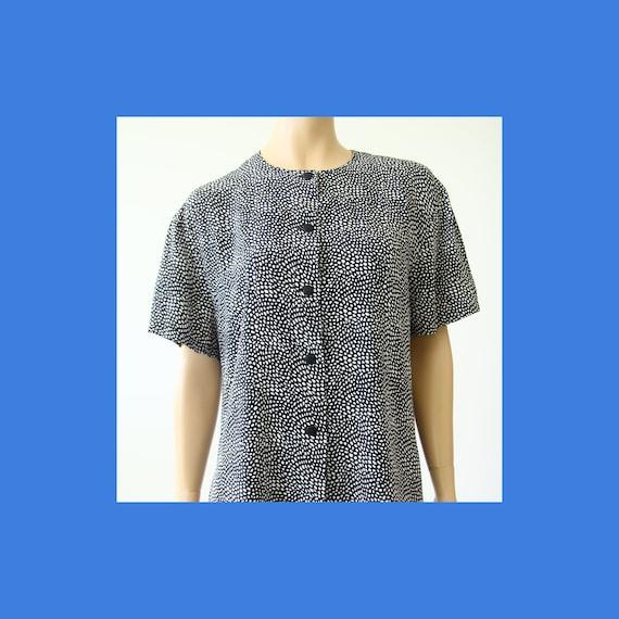 Vintage Marimekko dot patterned shirt / Marimekko