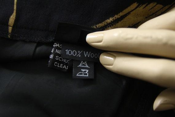 Marimekko vintage wool midi skirt - image 6