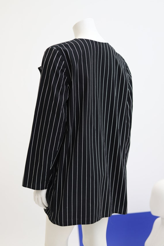Vuokko Nurmesniemi vintage black and white stripe… - image 3