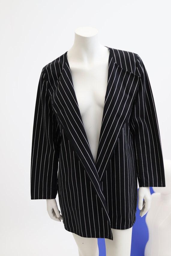 Vuokko Nurmesniemi vintage black and white stripe… - image 4