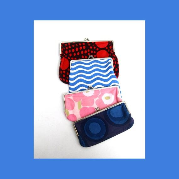 Marimekko collection mix of small purses / wallets