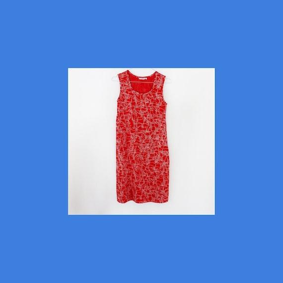 Marimekko Husse dog print summer shirt dress for w