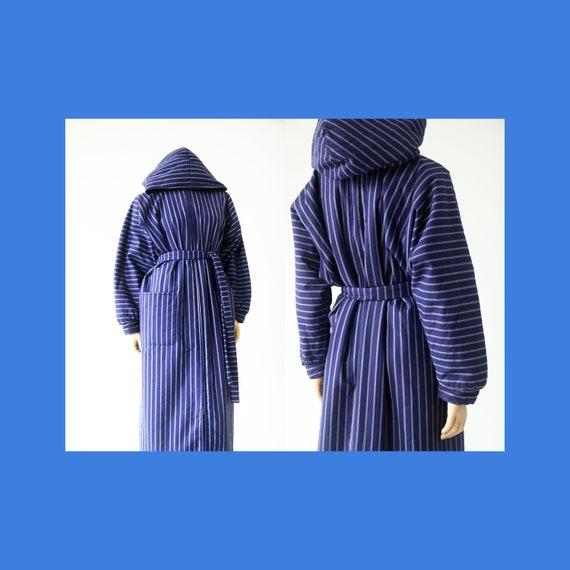 Vintage Vuokko Nurmesniemi striped long parka coat