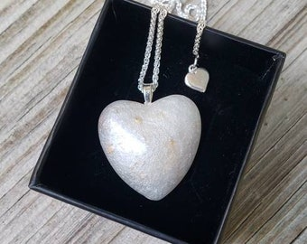NEW! Heart Shaped Breastmilk DIY 'Add On' Project Option to the Maidinthewoods Preservation and Casting Kit...Mold and SS Chain options
