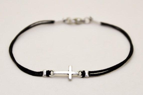 Bracelet homme croix