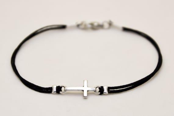 abschlussgeschenk kreuz armband f r m nner herren armband. Black Bedroom Furniture Sets. Home Design Ideas