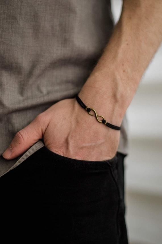 Bracelet infinity pour homme