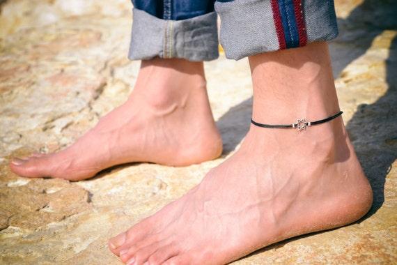 Bracelet cheville pour homme
