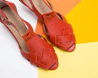 Heeled Sandals, Womens Heels, Heels, Womens Shoes, Black Shoes, Elegant Sandals, Handmade Leather Heels , High Heel Sandals