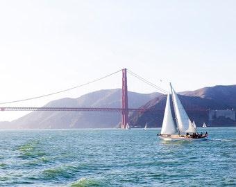 Golden Gate Bridge, California, America. Fine Art Photography. Framed Photo. Large Photo Prints. Landscape Prints. Home Decor, Wall Art.