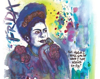 """FRIDA KAHLO - """"Wings to Fly"""""""