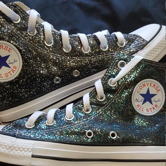 washable glitter/sparkle Converse   Etsy