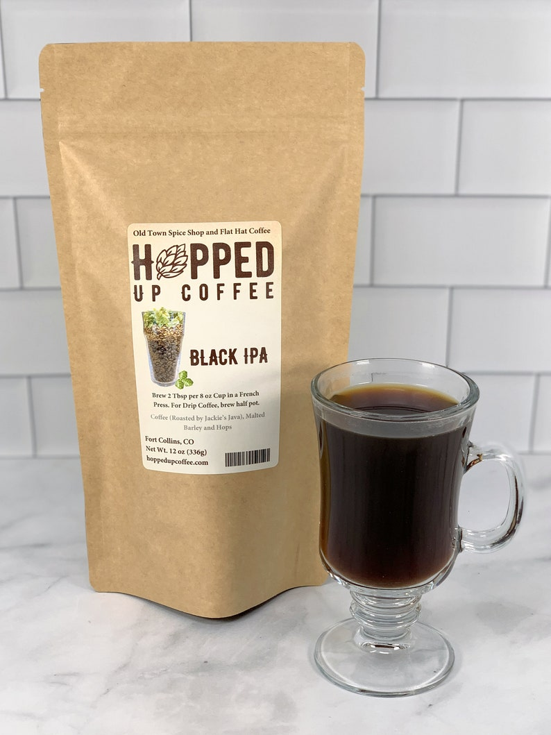 Hopped Up Coffee Black IPA Beer Coffee Specialty Coffee image 0