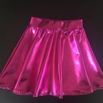 Dreaming Kids  Fuchsia Metallic Skirt
