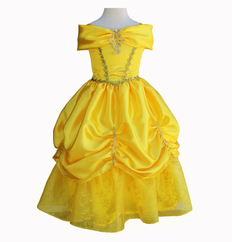 Belle dress beauty and the beast inspired dress image 0