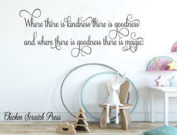 Downloadwhere There Is Kindness There Is Goodness Where Etsy