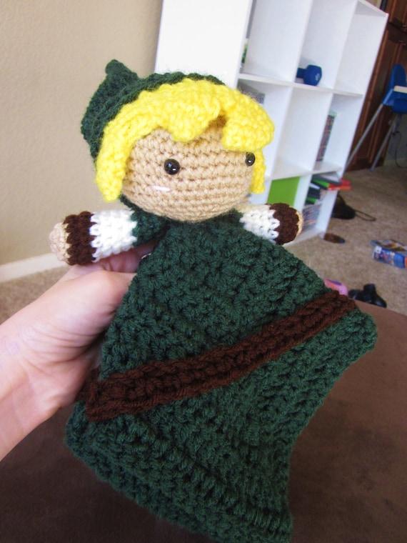 Crochet Pattern Download Link Lovey Legend Of Zelda Etsy