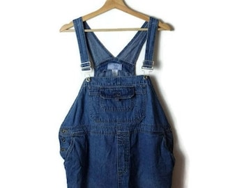 26dc161ac60 ON SALE Denim Maternity Overalls Bib Shorts  All in One  Carpenter Farmer Gardening