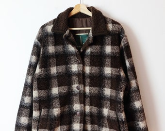 675455341 Plaid coat | Etsy