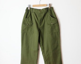 6be62cc87 ON SALE Vintage Boy Scout of America Official Pants/W26-31