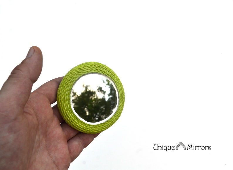 Kleiner Runder Kühlschrank : GrÜne runde spiegel kühlschrank magnet ungewöhnliche etsy