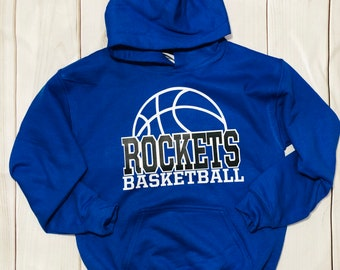 43c1adc3b Youth Rocket Basketball Hoodie