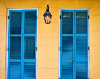 New Orleans Photography, Door Photography, Mardi Gras, Fat Tuesday, Nola Photo Print
