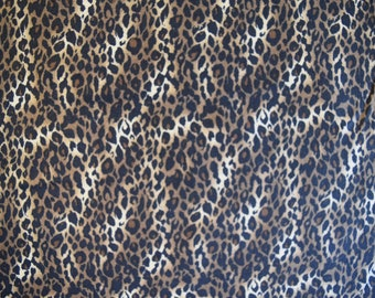 Cheetah Skin Print From it is A Jungle Collection by Choice Fabrics,  Quilt or Craft Fabric,  Fabric by the Yard.